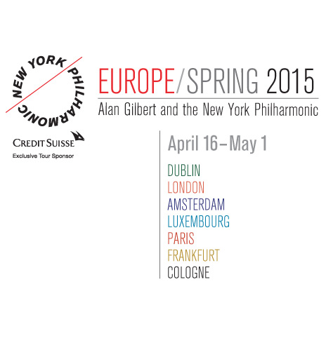 EUROPE / SPRING 2015 Tour NY Philharmonic
