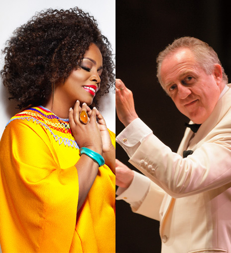 Dianne Reeves Bramwell Tovey NY Philharmonic