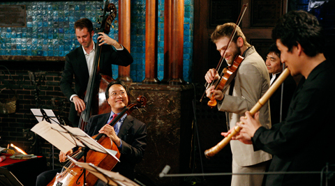 The Silk Road Ensemble Yo-Yo Ma NY Philharmonic