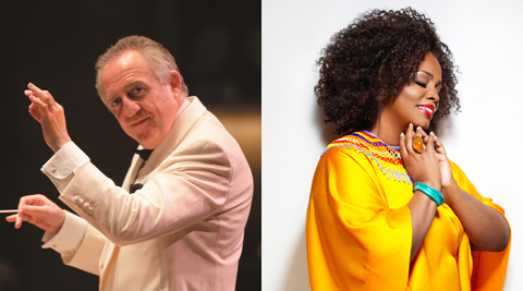 Bramwell Tovey Dianne Reeves NY Philharmonic