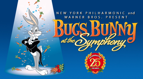 Bugs Bunny at the Symphony NY Philharmonic
