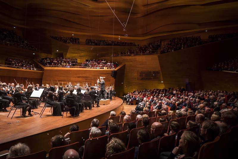 "<b>Copenhagen, April 6, 2017, 8:03PM:</b> Alan Gilbert and the New York Philharmonic perform Bartók's demanding and powerful Music for Strings, Percussion, and Celesta. The <i>Berlingske</i> review would note that this piece was ""played with a precision and an almost uncanny warmth in the Night Music movements. One thought, again and again, 'That's the best passage! No, this! No, that!'"""
